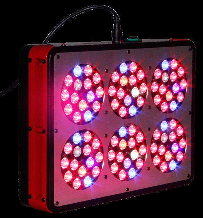 PPF 1.8umol/J LED Grow Lights APOLO 6 150W 660nm/460nm Spetrum Wide Diffusion Angle