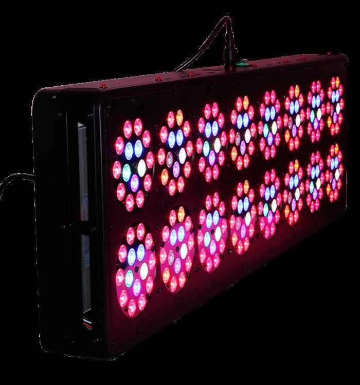 AC100-277V LED Grow Lights APOLO 16 400W PPF 1.8umol/J Alluminum Material